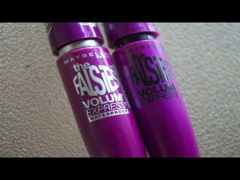 2cc5b6a06e3 Maybelline The Falsies Black Drama vs. The Falsies Flared. Clumps of Mascara