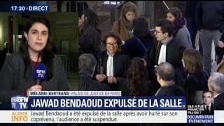Jawad Bendaoud insulte copieusement son co-détenu et provoque une suspension de séance
