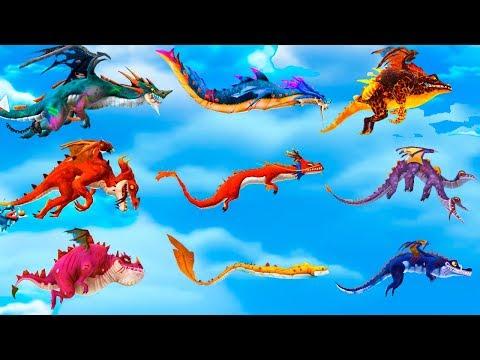 Hungry Dragon All Dragons Unlocked (Draconis, Poseidran, Dante, Blaze, Zhe Long, Jekyll & Fried)