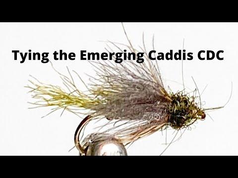 Fly Tying The Emerging Caddis CDC