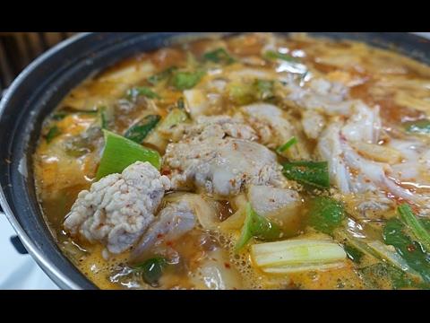 [힐링 맛집] 속초의 겨울 별미 '도치알탕·물곰탕'을 아시나요? (속초, 사돈집)
