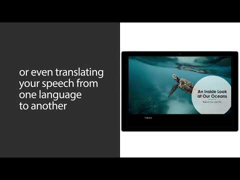 Make your presentations more inclusive with live captions and subtitles in PowerPoint