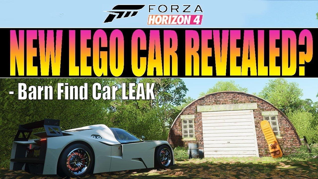 Forza Horizon 4 - New LEGO Car Clue! Barn Find Car Revealed! thumbnail