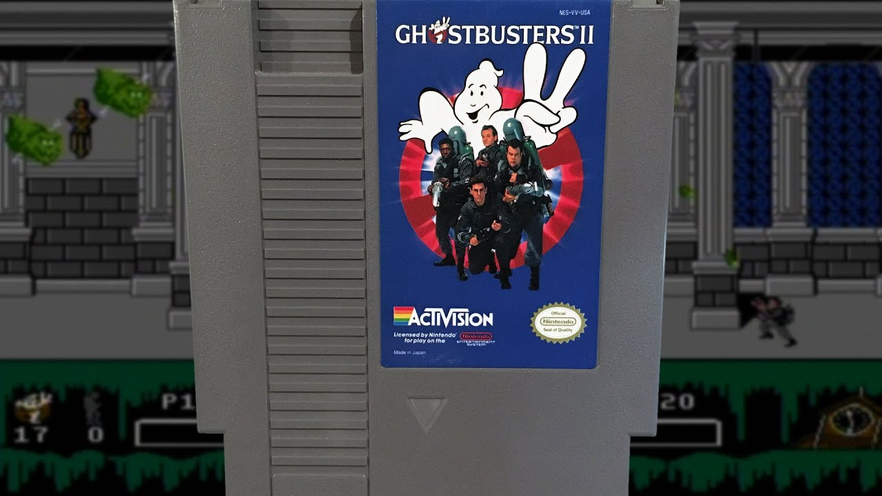 Ghostbusters II (NES) Mike & Bootsy
