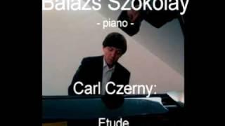Carl Czerny: Etude Op. 740. No. 37. d-moll - Balázs Szokolay