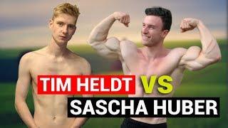 TIM HELDT macht SASCHA HUBERS HIIT-Ganzkörper WORKOUT!