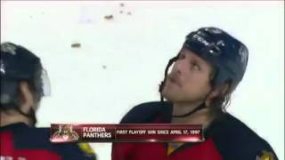 Rats Thrown On Florida Panthers Ice:NHL-4/15/12