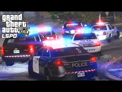 GTA 5 - LSPDFR #187 - Doing It Canada Style (RCMP & O.P.P Patrol)