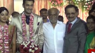 Rajinikanth And Many Celebreties Attend Arulnidhi Wedding
