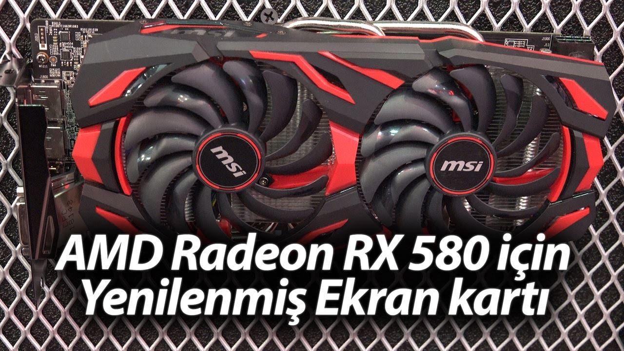 AMD Radeon RX 580'li yeni ekran kartı: MSI Mech2