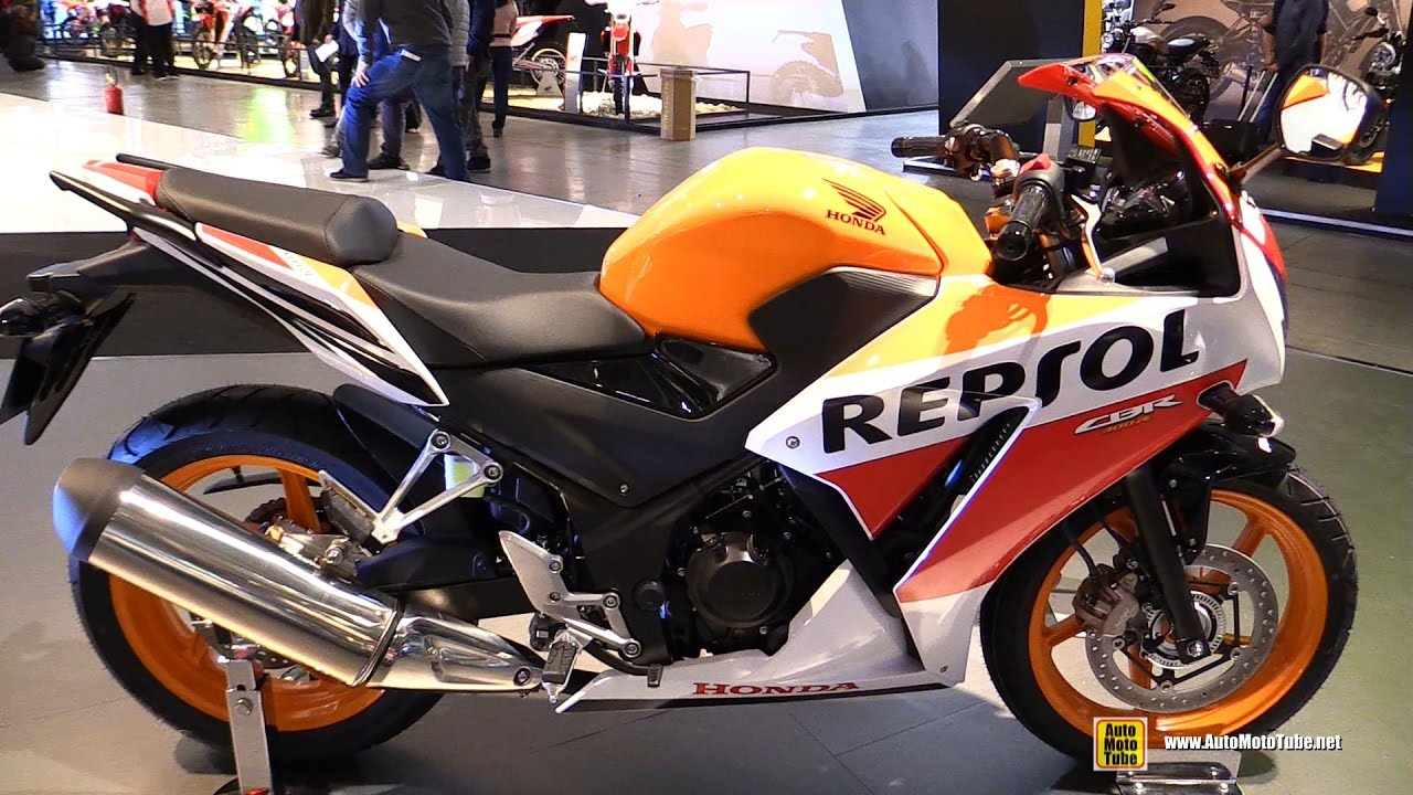 60e1fb2edba 2017 Honda CBR300R Repsol - Walkaround - 2016 EICMA Milan - YouTube