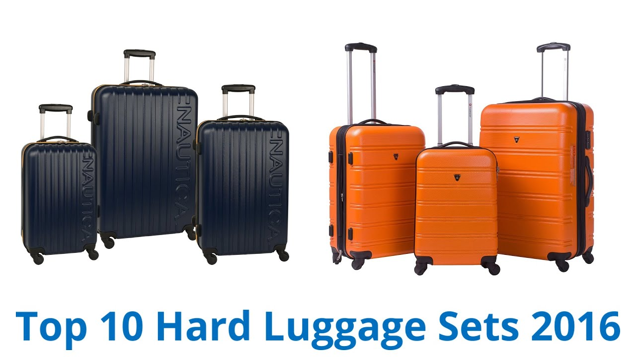 10 Best Hard Luggage Sets 2016 - YouTube