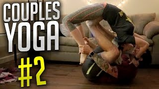SEXY YOGA POSES   Couples Yoga Challenge #2