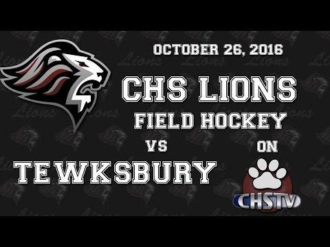 CHS Girls Field Hockey v Tewksbury Oct. 26, 2016