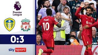 Salah & Mané treffen | Leeds United - FC Liverpool 0:3 | Highlights - Premier League 2021/22