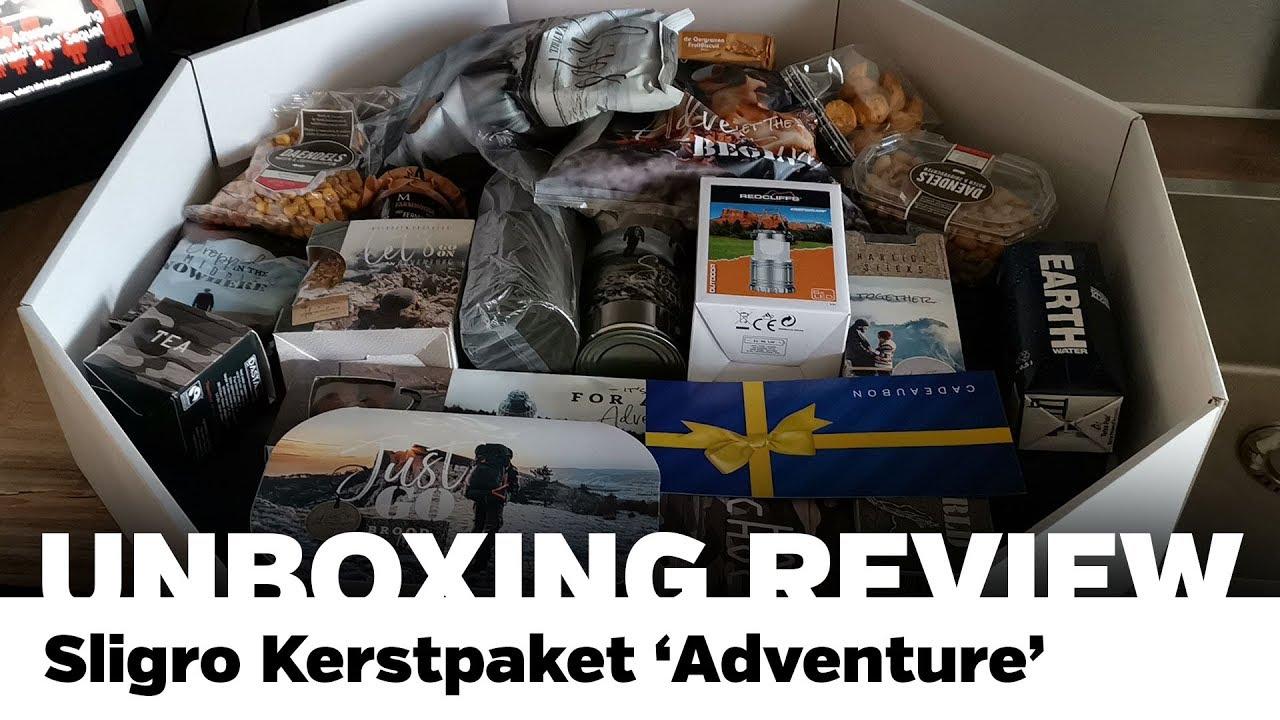 Review Sligro Kerstpakket Adventure Just For Koks Nl