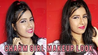 Charm Girl Makeup Look || Smokey Eye Makeup Look