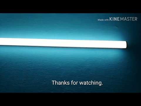 LED Tube Light Installation