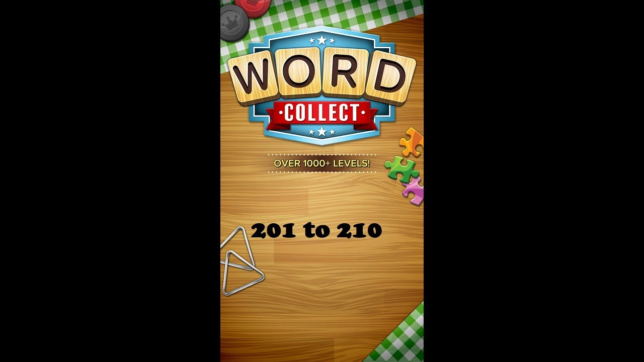 Word Collect Level 201 202 203 204 205 206 207 208 209 210