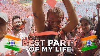 BEST PARTY OF MY LIFE | Celebrating Holi in Mumbai, India 🇮🇳