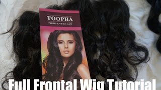 13x4 Frontal Wig Tutorial: Peruvian Loose Wave