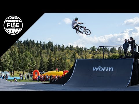 FISE EDMONTON 2017: UCI BMX Freestyle Park World Cup Men Final - REPLAY