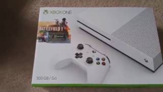 NEW XBOX ONE S BATTLEFIELD 1 BUNDLE UNBOXING