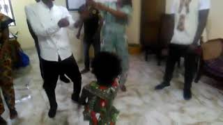 Akosua's song special request at the joint birthday party gotta love Baby Shark