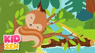 Relaxing Baby Sleep Music: Forest Bed 🦊 Bedtime Lullaby for Babies and Kids, Piano Music