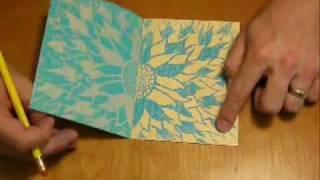 Crayon Art, Transfer Print - Kinsy McVay