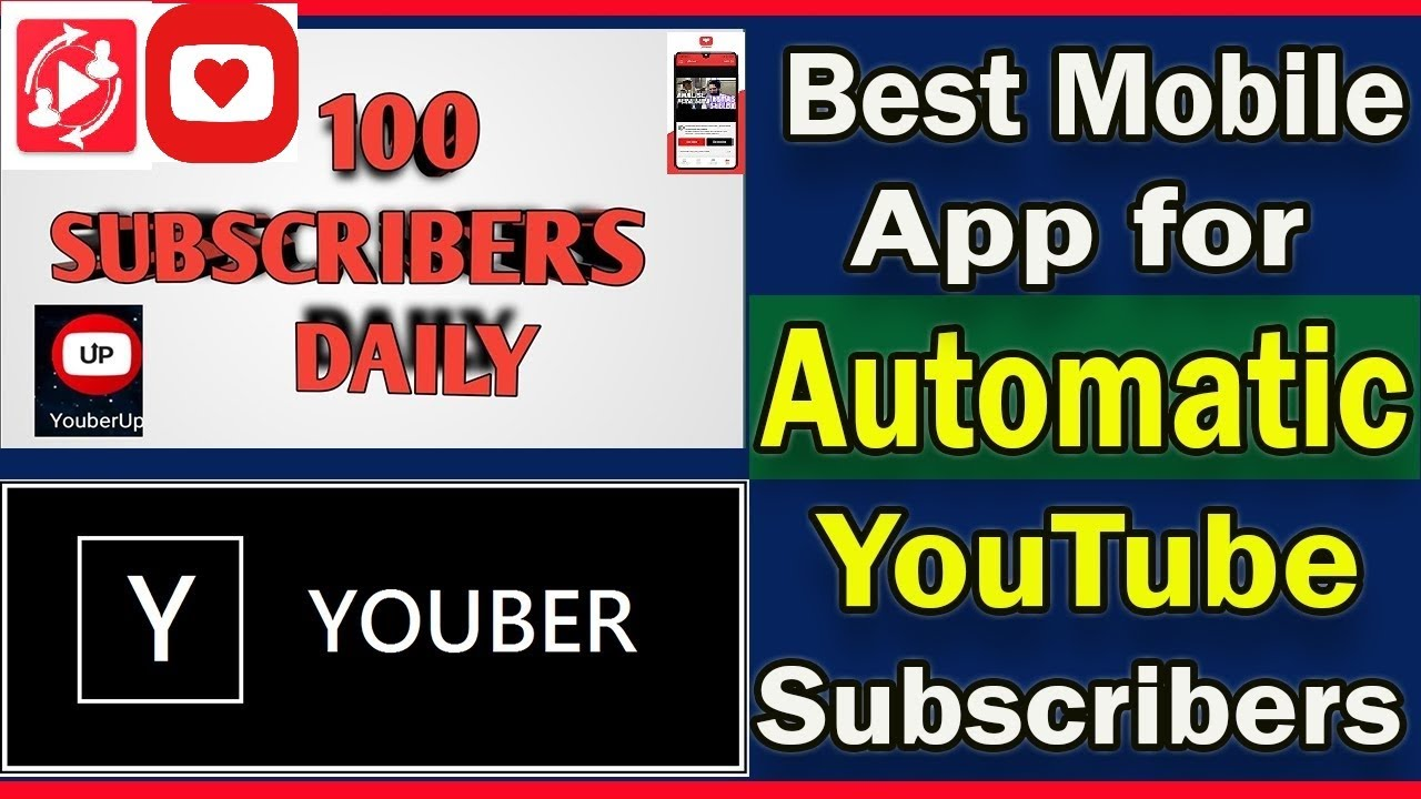 Download Best sub4sub App for android   YouTube Subscriber kaise badhaye   top sub for sub apps  Sub4sub Apps