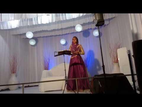 fasna jamal Ellam ariyum Nadha malayalam mappila song 2016