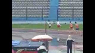 Armando Manoku Champion of Albania 400 Metres