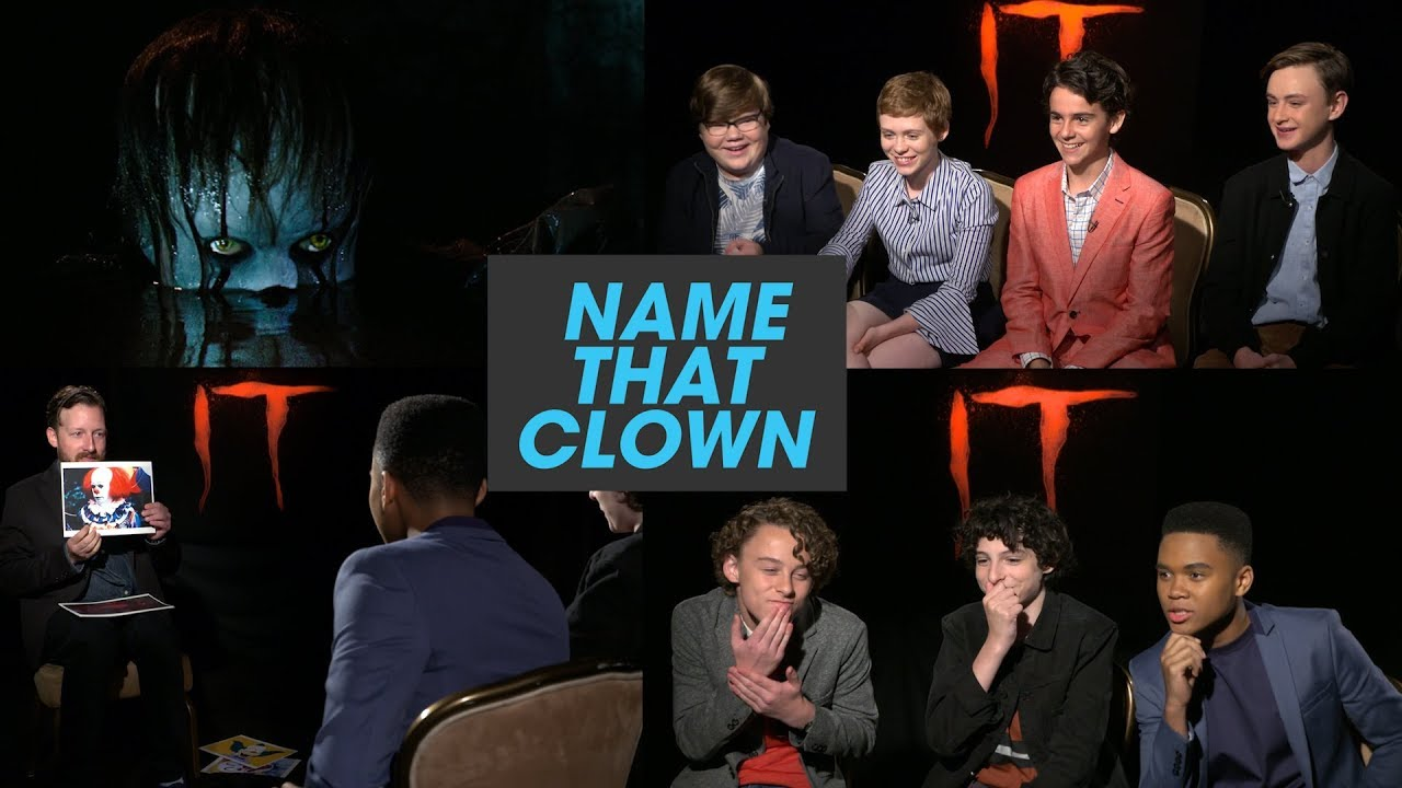 the it losers club plays name that clown youtube
