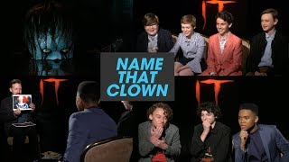 The 'It' Losers Club Plays 'Name That Clown' thumbnail