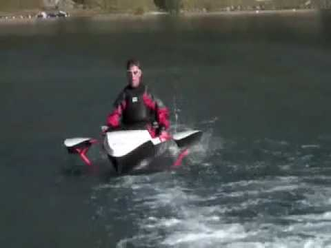 Treddlecat: A quantum leap in pedal boat power | FunnyDog.TV