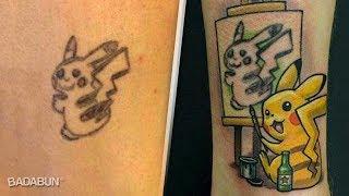 Tatuajes horribles cubiertos de forma legendaria