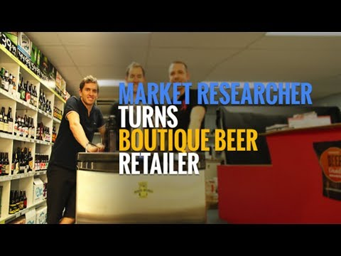 How A Market Researcher Turned Boutique Beer Retailer Selling 1,100 Craft Beers   #278