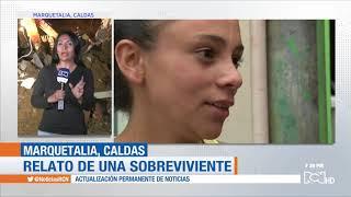 Concluyen labores de rescate tras derrumbe en Marquetalia, Caldas