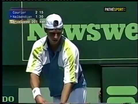 Miami 2000 R1 - Courier vs Nalbandian