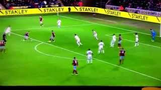 Andy Carroll great goal v Swansea