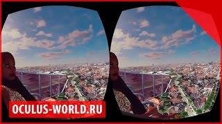 Cyber Space Oculus Rift | Колесо солнышко Окулус Рифт демо demo обзор тест аттракцион полет(, 2014-09-02T10:30:31.000Z)
