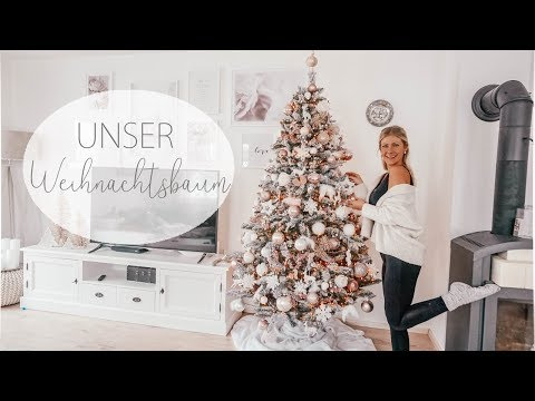 weihnachtsbaum-schmÜcken-diy-baumkugeln-i-rosegold