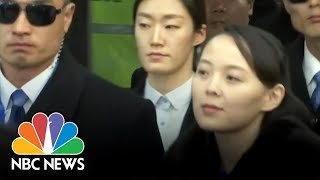 Video North Korea Leader Kim Jong Un's Sister, Kim Yo Jong, Makes History At Olympics | NBC News download MP3, 3GP, MP4, WEBM, AVI, FLV Oktober 2018