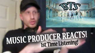Music Producer Reacts to BTS - Fake Love (FIRST TIME HEARING BTS!!)