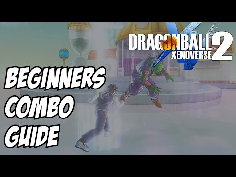 Dragon Ball Xenoverse 2 Beginners guide to combos - Male Saiyans