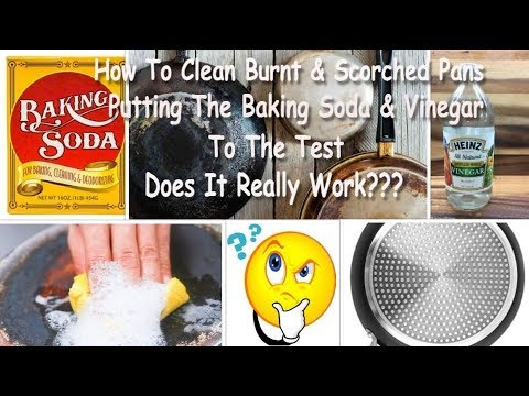 Pot Cleaning How To Clean Burnt Amp Scorched Pan Putting