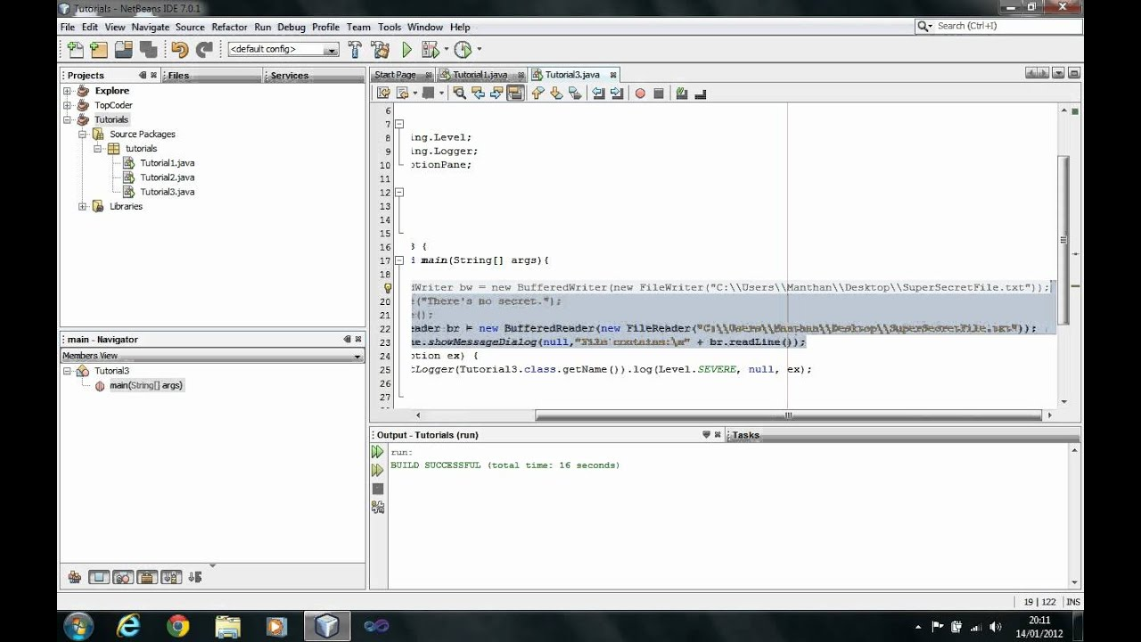 Java tutorial reading and writing files session 8 youtube baditri Images