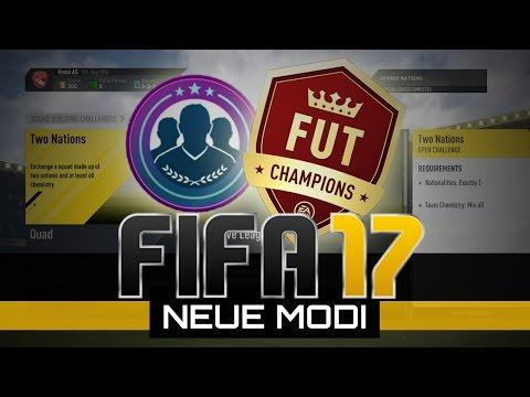 FIFA 17 Ultimate Team | Neue Modi! Squadbuilder Challenges, FUT Champions & neue Legenden! PS4/Xbox!
