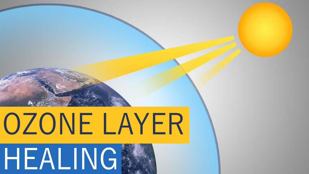 Ozone layer healing itself Know why - YouTube